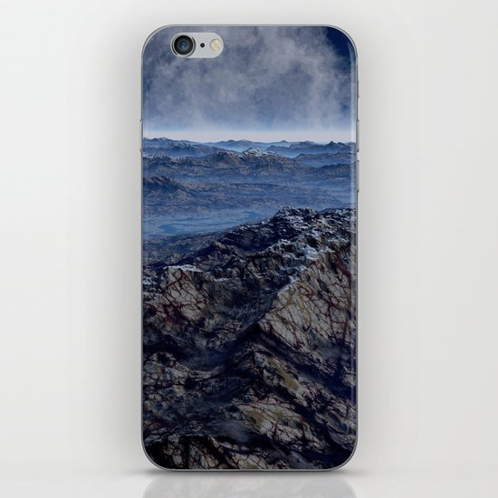 Welcome To Planet X iPhone Skin