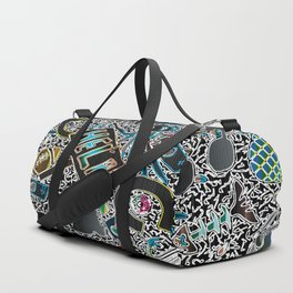 Cartoony Collage 1 Duffle Bag