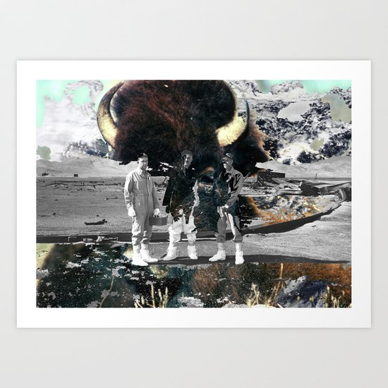 ox Art Print