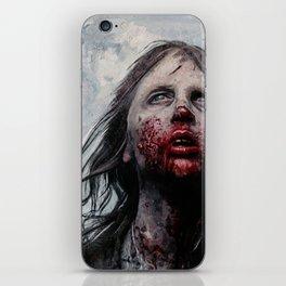 The Lone Wandering Walker - The Walking Dead iPhone Skin