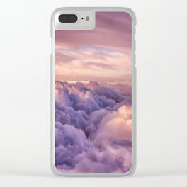 Mountains of Dreams Clear iPhone Case