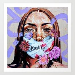 Silence is Compliance Art Print