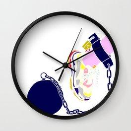 SNEAKERS SLAVE Wall Clock