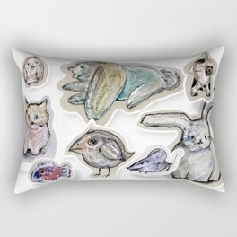 animals Rectangular Pillow