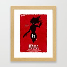 Mama (Red Collection) Framed Art Print