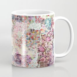 Buffalo map New York Coffee Mug