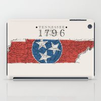 tennessee iPad Cases featuring Tennessee: 1796 by Chad Madden
