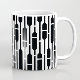 Spells - Geometric Pattern (Black) Coffee Mug