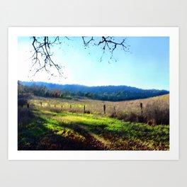 Grant Ranch Trail Art Print