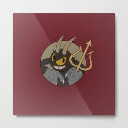 Devil / Cuphead Metal Print