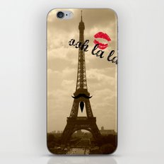 ooh la la iPhone & iPod Skin