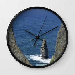 Cliffs of Moher Lookout Wall Clock