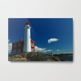 Fisgard Lighthouse Metal Print