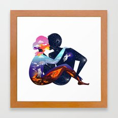 Someone New Framed Art Print