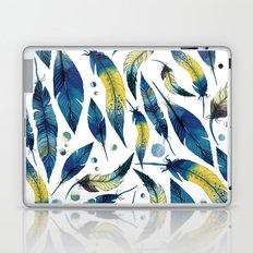 Falling Feathers Laptop & iPad Skin