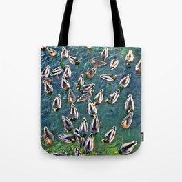 Duck Swarm Tote Bag