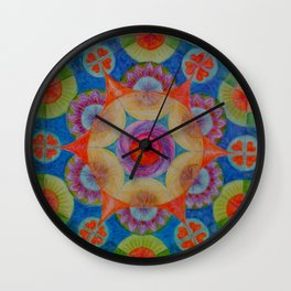 Geometric design for the opening of the academic year. Will suit university and college students. Wall Clock