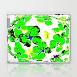 Floral Easter Egg Laptop & iPad Skin