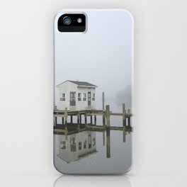 Eastern Branch Boat House iPhone Case