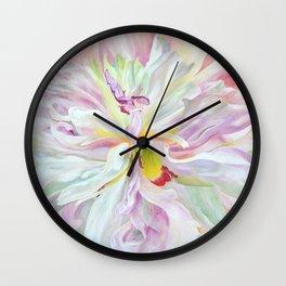 Sorbet by Teresa Thompson Wall Clock