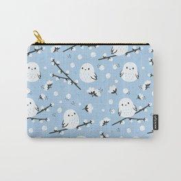 Cotton bird pattern design Carry-All Pouch
