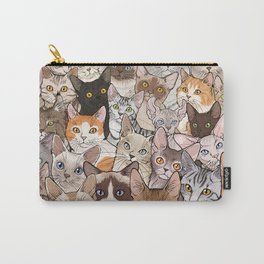A lot of Cats Carry-All Pouch