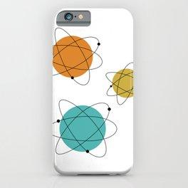 Big Bang Mid-Century Atomic Age iPhone Case