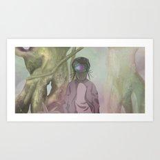 CRIKCET MIND O1 Art Print