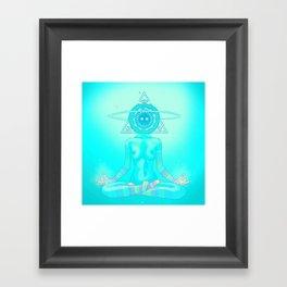 Sun Head 2 Framed Art Print