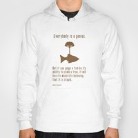 quote Hoodies featuring Einstein by Tracie Andrews