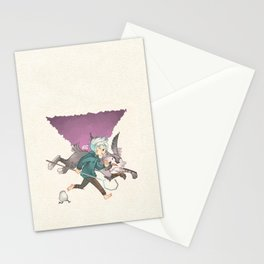 Let's Race !! Stationery Cards