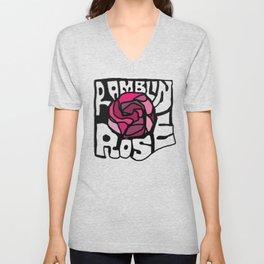 Ramblin Rose Unisex V-Neck