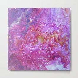 Fluid painting 8. Metal Print