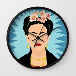 Frida Khalo | Bad Ass Women Series Wall Clock