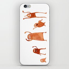 Monster Dance Party iPhone Skin