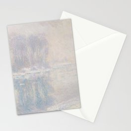 Ice Floes (1893) by Claude Monet Stationery Cards