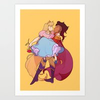 Princess Princess 2 Art Print