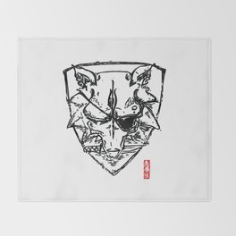 Wolf Shield - Crest Throw Blanket