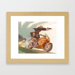 Secret Agent Calvin Hobbes: Worlds a Playground Framed Art Print