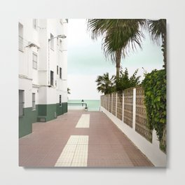 Road to the Beach - Landscape Photography Metal Print