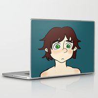 hiccup Laptop & iPad Skins featuring Hiccup  by Gio Garcia