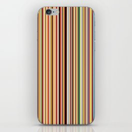 Old Skool Stripes iPhone Skin