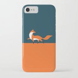 Fox walk iPhone Case