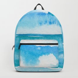 Dancing Turquoise Sky Backpack