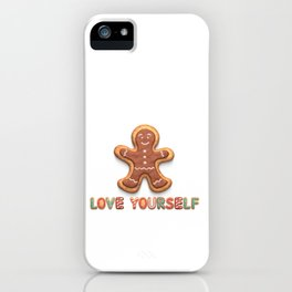 Love Yourself: BTS Christmas Cookies! iPhone Case