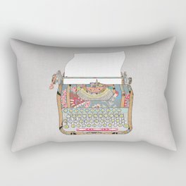 I DON'T KNOW WHAT TO WRITE YOU Rectangular Pillow
