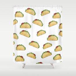 Too many tacos Shower Curtain