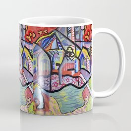 The Church at Auvers a la Mela Coffee Mug