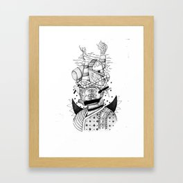 Ms. Factory Framed Art Print