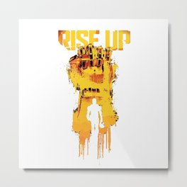 rise up Pacific Rim Uprising 2018 Metal Print